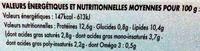 12 Œufs Frais - Voedingswaarden - fr