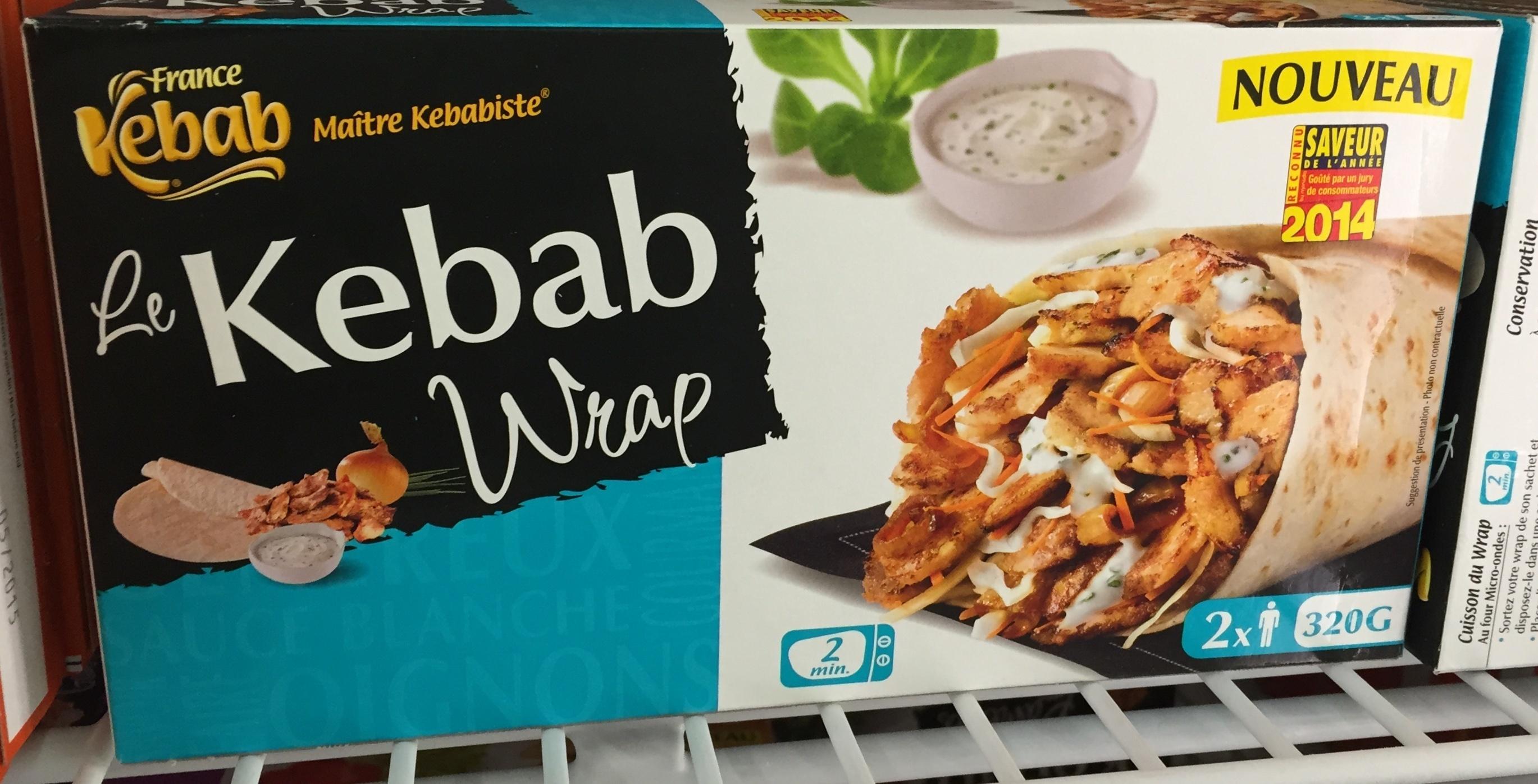 Le Kébab Wrap - Produit