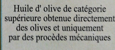 Huile d'olive kalamata - Ingrédients - fr