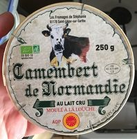 Camembert de Normandie - Product - fr