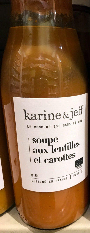 Soupe aux Lentilles et Carottes - Product