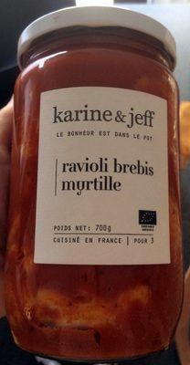 Ravioli brebis myrtille - Product - fr