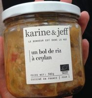 Un bol de riz à Ceylan - Produit