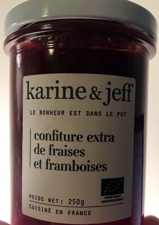 Confiture extra de fraises et framboises - Produit