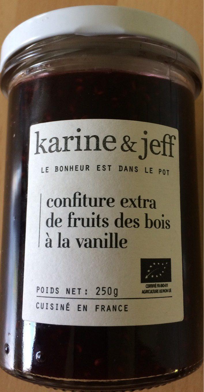 Confiture extra de fruits des bois à la vanille - Produit