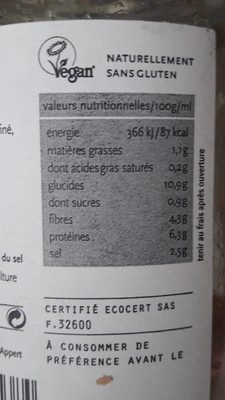 Lentilles au naturel - 4