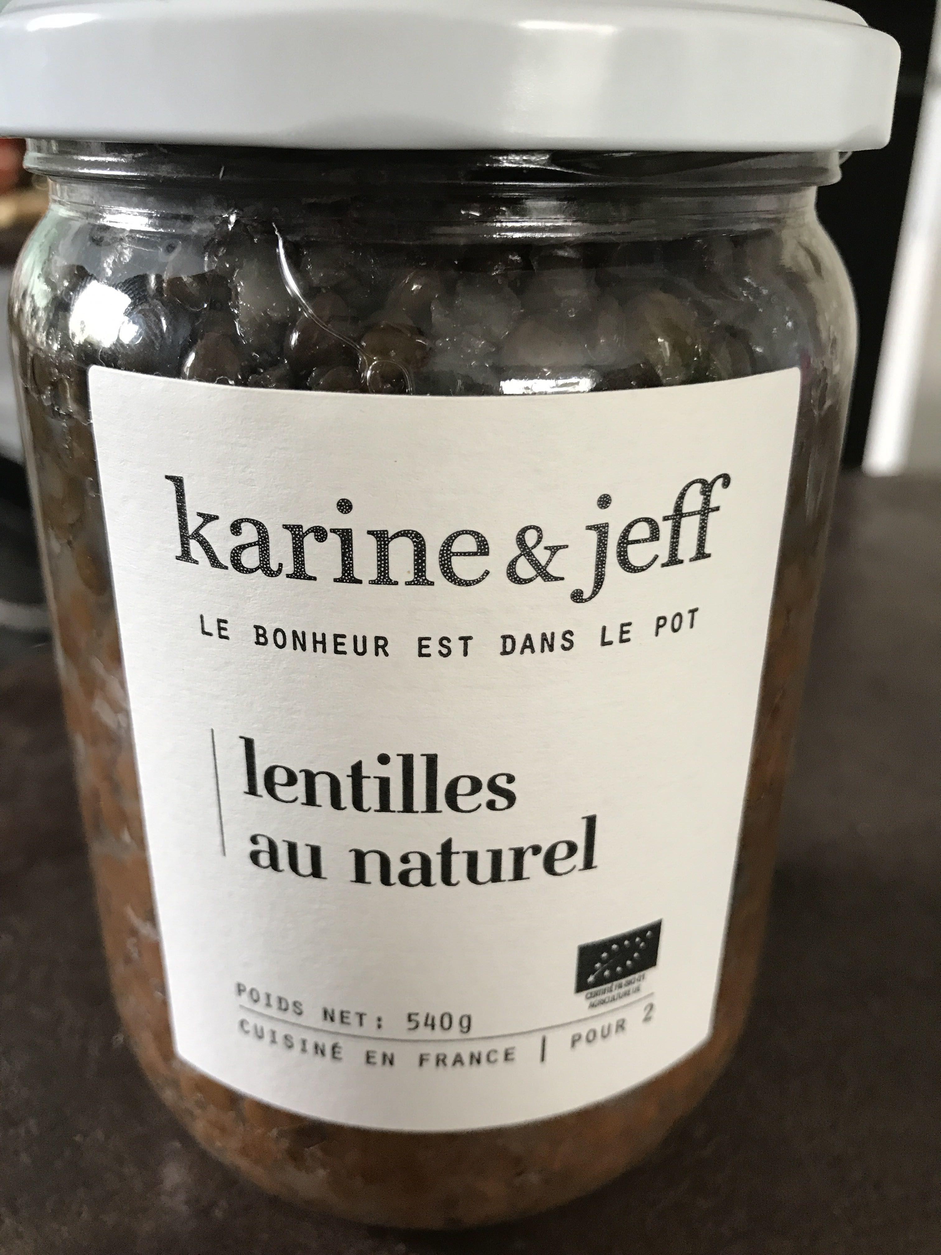 Lentilles au naturel - Product - fr