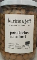 Pois Chiches Au Naturel - Produit - fr