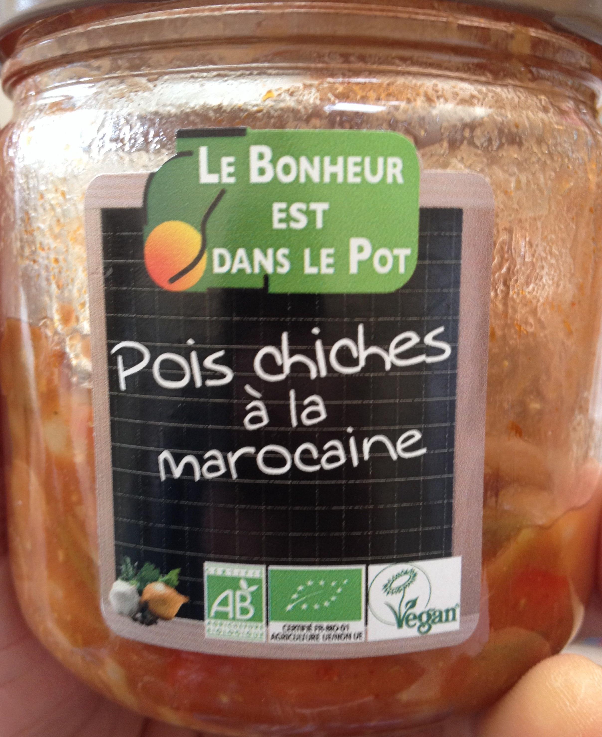 Pois chiches à la marocaine - Produit - fr