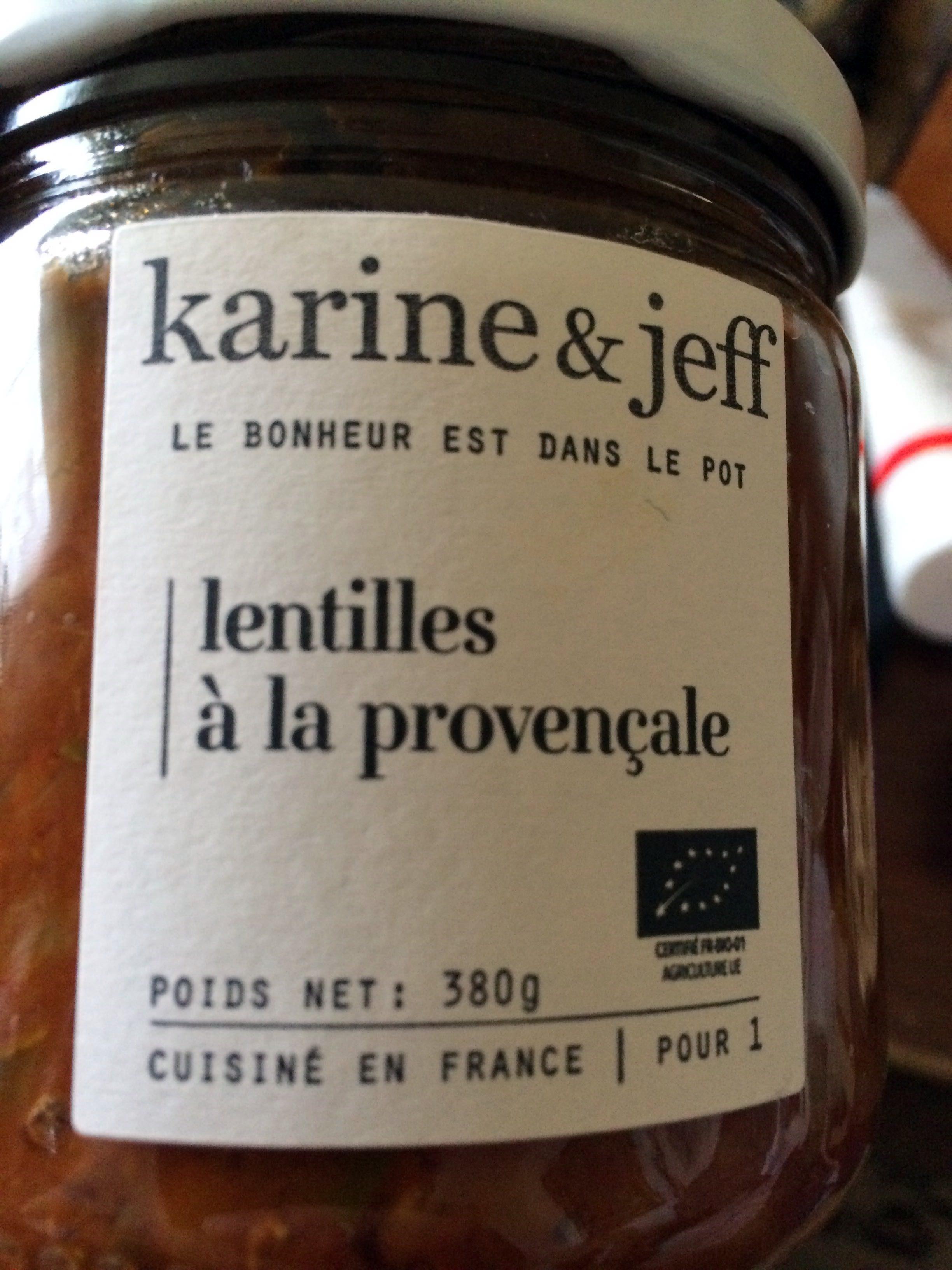Lentilles à la provençale - Product - fr