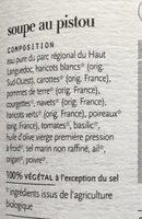 Soupe Au Pistou - Ingredienti - fr
