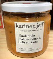Fondant de Patates Douces, Tofu et Ricotta - Product