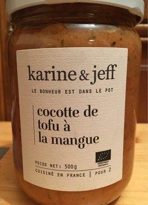 Cocotte de tofu à la mangue - Product