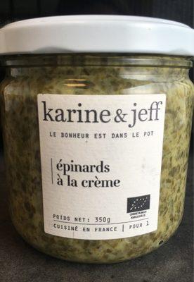 Epinards à la crème - Product