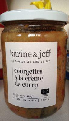 Courgettes à la Crème de Curry - Product