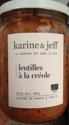 Lentilles à la créole - Product - fr