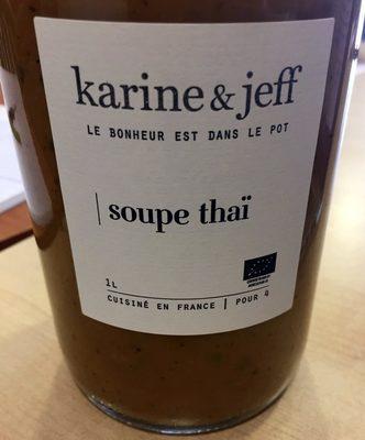 Soupe Thaï - Produit