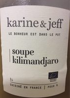 Soupe Kilimandjaro - Produit