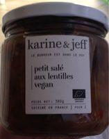 Petit salé aux lentilles vegan - Produit