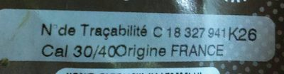 OIGNON SAUCIER 500GRS - Ingredients