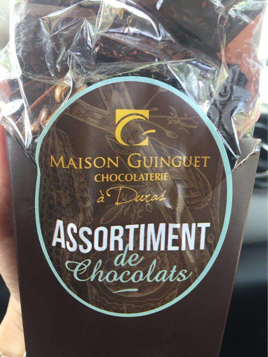 Chocolat guinguet - Produit