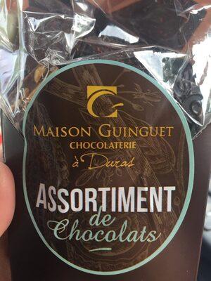 Chocolat guinguet - Ingrédients