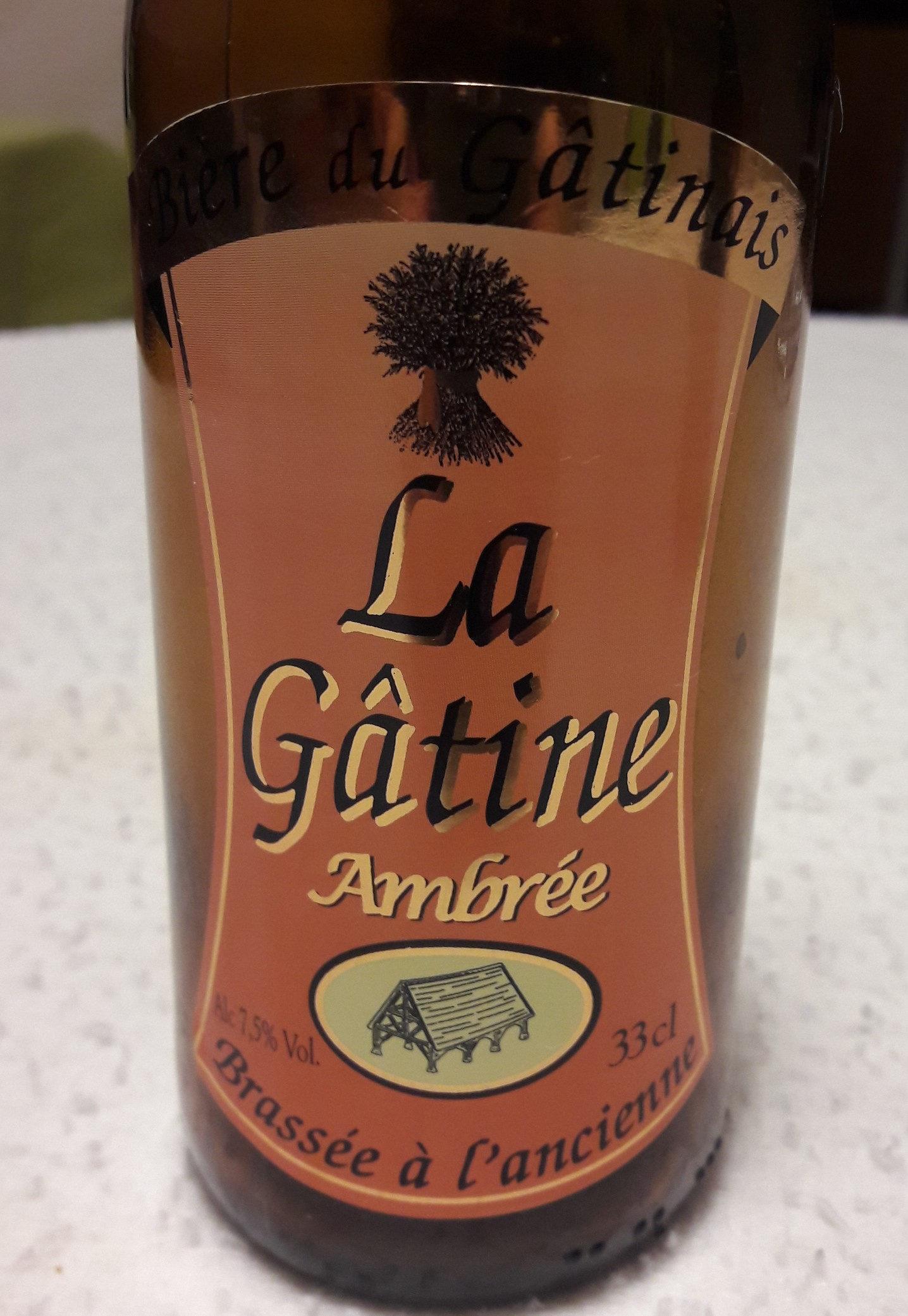 Bière Ambrée brassée à l'ancienne - Produit