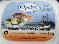 Salade au Crabe-Surimi - Produit - fr