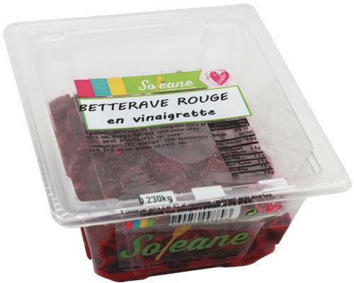 BETTERAVE ROUGE EN VINAIGRETTE - Product - fr