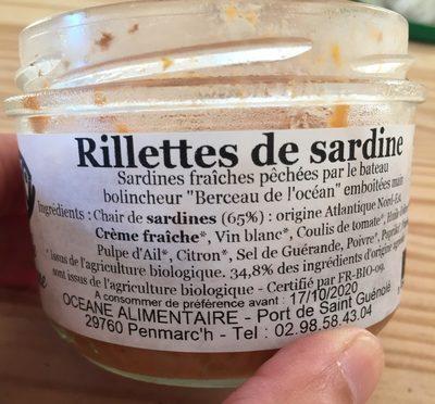 Rillettes de sardine - Produit - fr