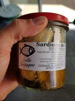 Sardines de saint GUE - Produit - fr