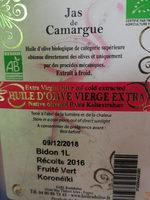 jas de Camargue - Product