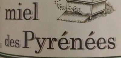 Miel des Pyrénées - Ingrediënten - fr