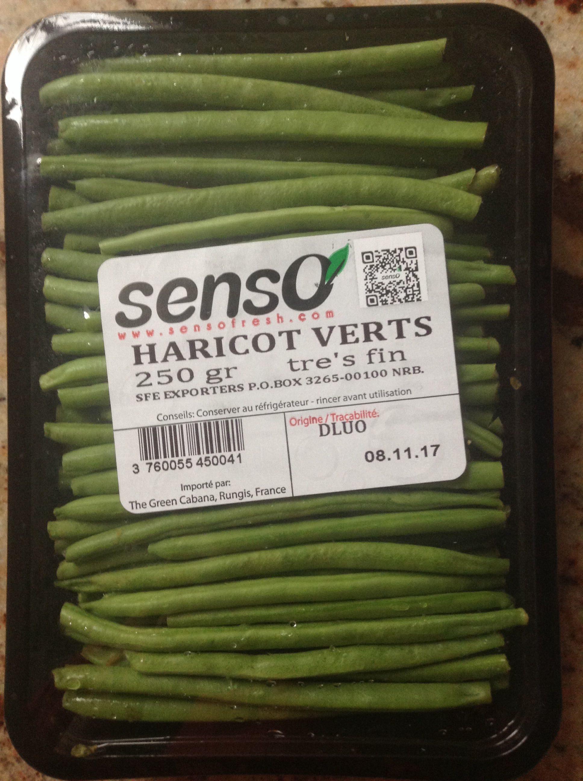 Haricots verts - 产品 - fr