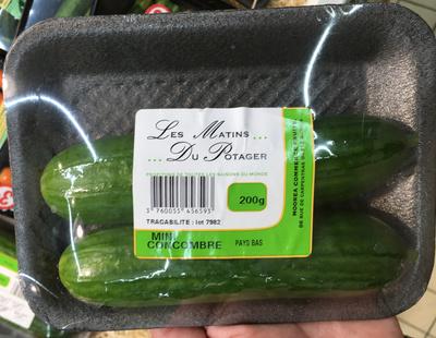 Mini Concombre - Produit