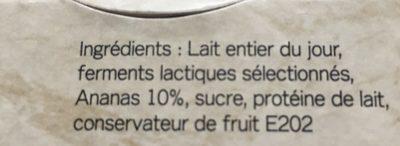 Yaourt de normandie - Ingredients