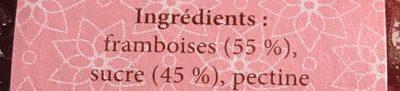 Framboise épépinée - Ingrédients - fr