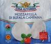 Mozzarella di latte di Bufala Casa Azzurra - Produit
