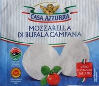 Mozzarella di latte di Bufala Casa Azzurra - Product