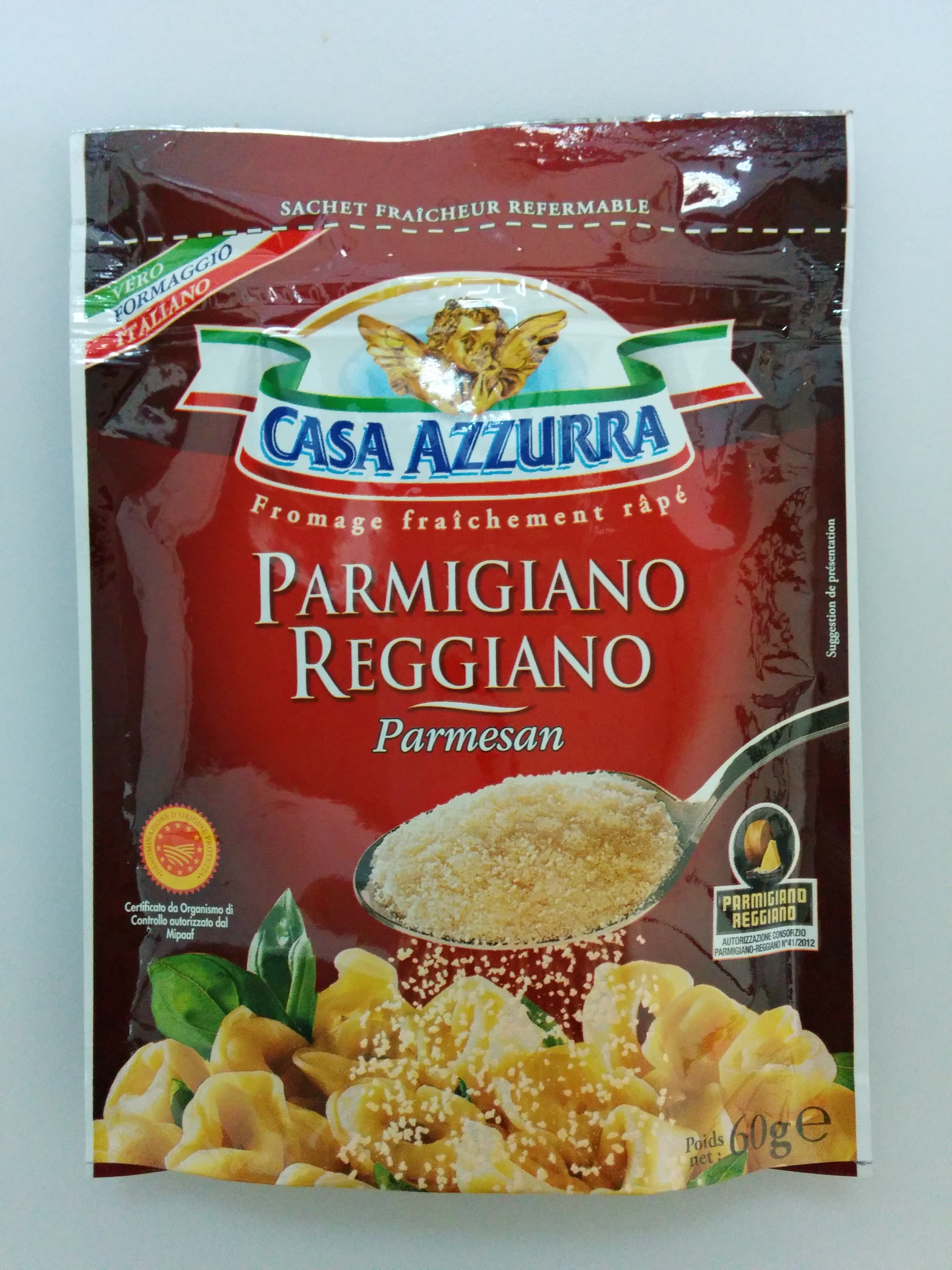parmigiano reggiano parmesan aop r p 28 4 mg casa azzurra 60 g. Black Bedroom Furniture Sets. Home Design Ideas