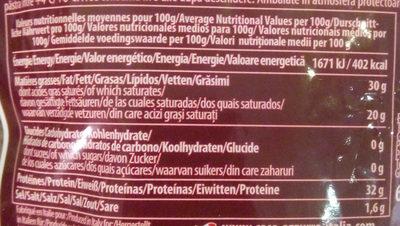 Parmigiano reggiano - Nutrition facts