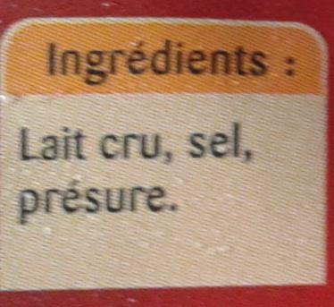 Parmesan - Ingredients