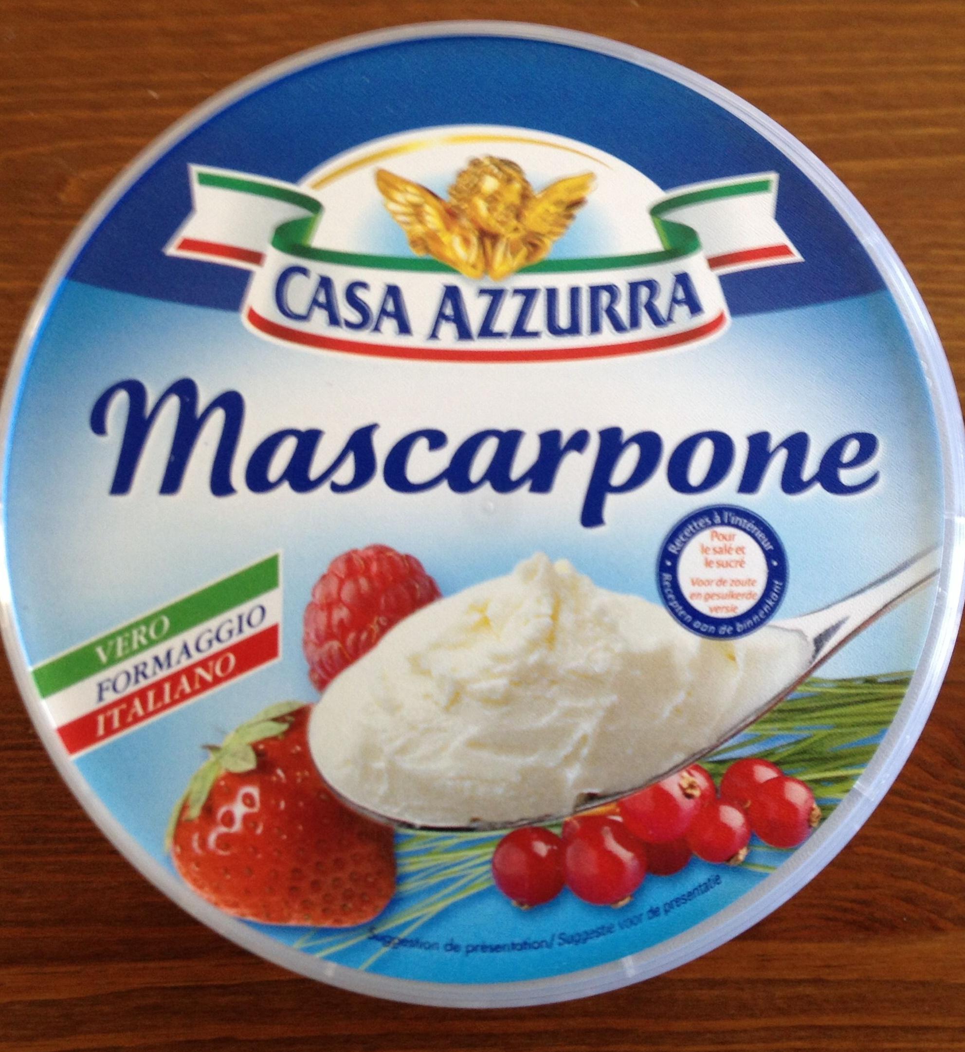 Mascarpone (40 % MG) - Produit - fr