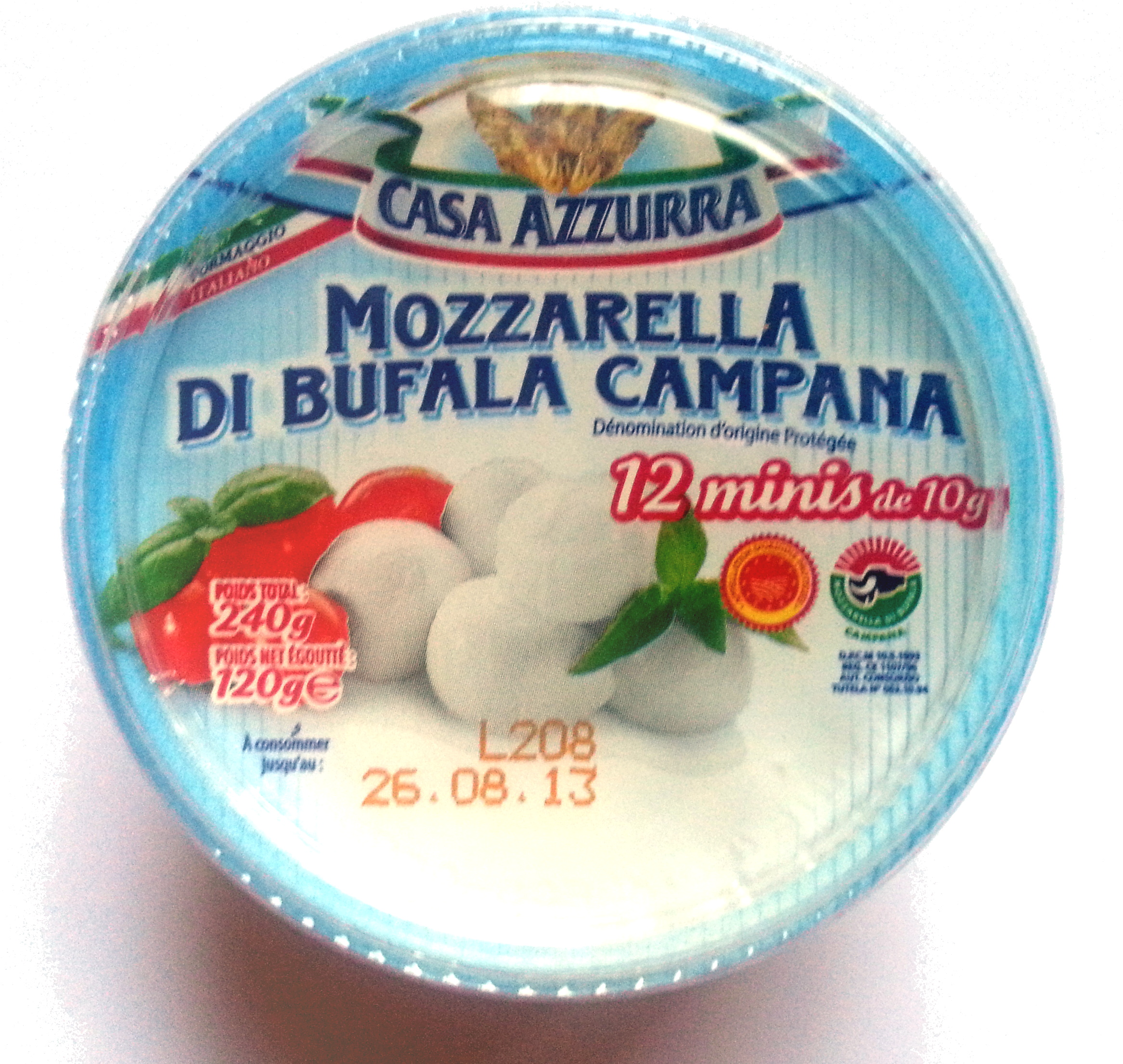 Mozzarella di Bufala Campana (22,9 % MG) - Product