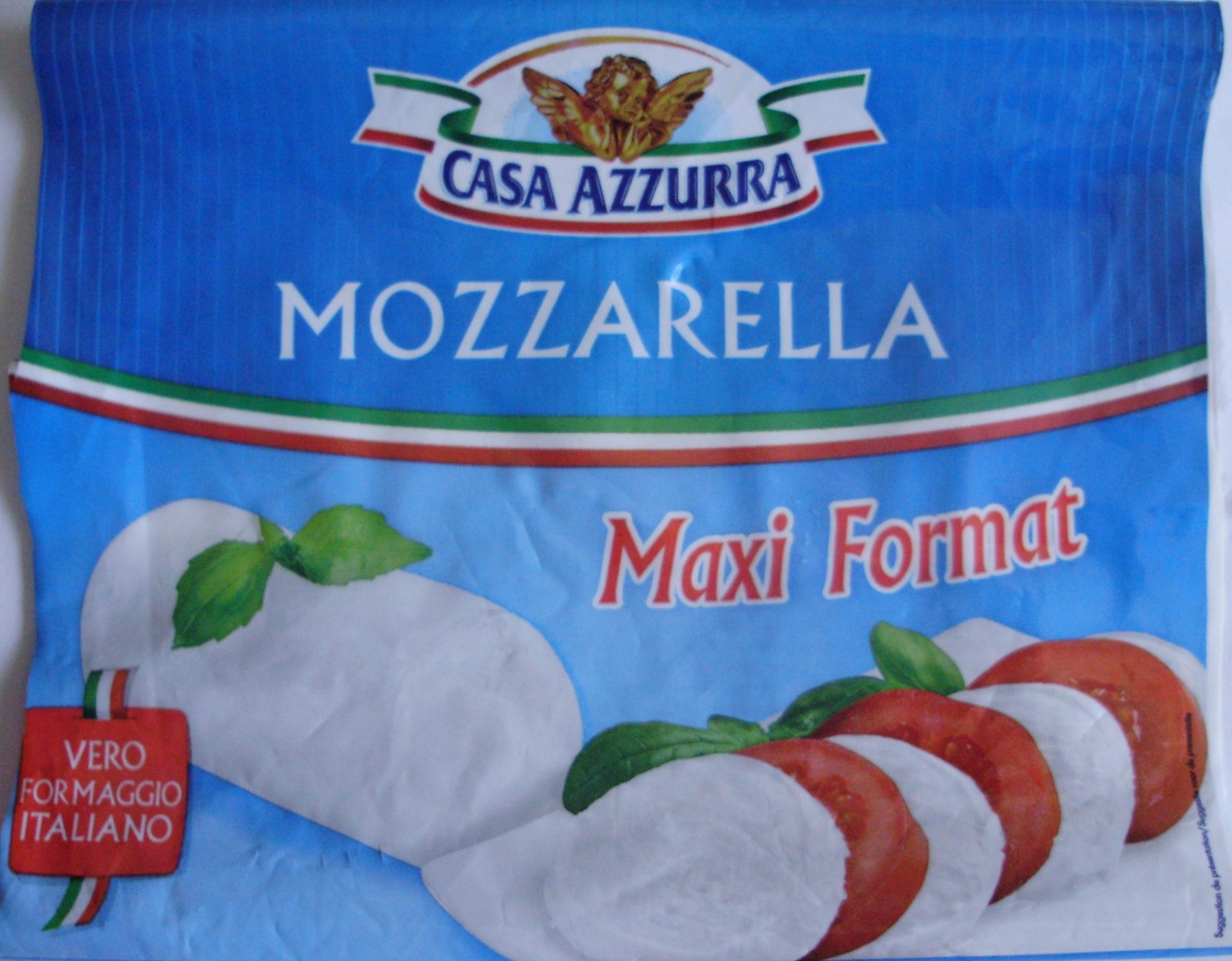 Mozzarella Maxi Format (18 % MG) - Produit - fr
