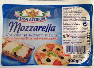 Mozzarella Spécial Cuisine (23 % MG) - Produit - fr