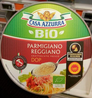 Parmigiano Reggiano DOP Bio (30 % MG) - Product - fr