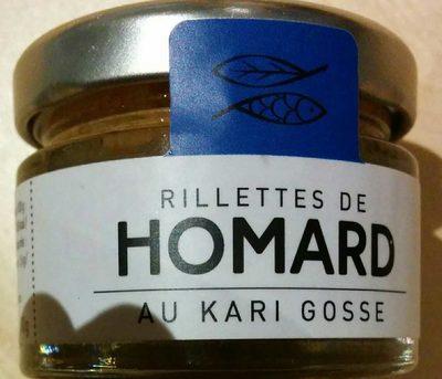 Rillettes de homard au kari gosse - Product