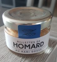Rillette De Homard Au Kari Gosse - Product
