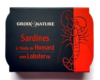 Sardines à l'Huile de Homard - Produit - fr
